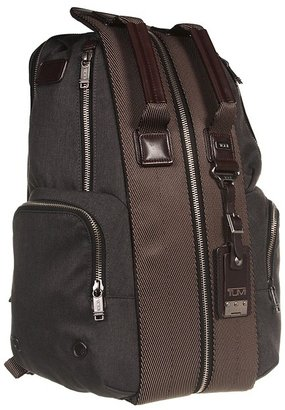 Tumi Alpha Bravo - Travis Backpack (Anthracite) - Bags and Luggage