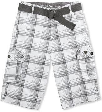 GUESS Shorts, Boys Beachside Plaid Shorts