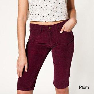 American Apparel Women's Corduroy 5-pocket Shorts $47.49 thestylecure.com