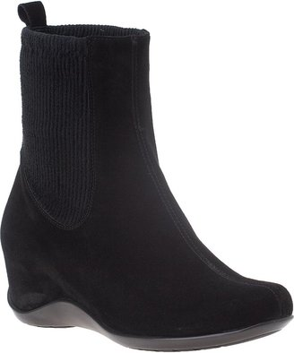 Aquatalia by Marvin K Versa Ankle Boot Black Suede