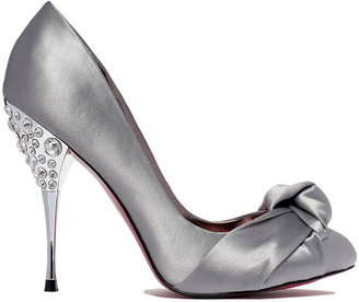 Paris Hilton Shoes, Spelled Evening Pumps