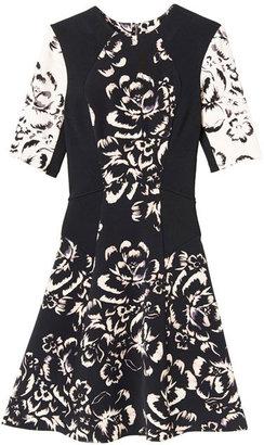 Rebecca Taylor Artisanal Blocked Dress