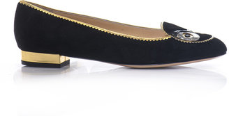 Charlotte Olympia Such a Hoot slippers