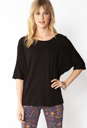 Forever 21 Slouchy Knit Dolman Top