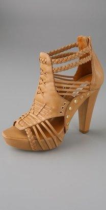Pour La Victoire Pascale High Heel Huarache Sandals