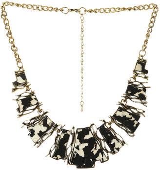 Arden B Animal Patterned Short Necklace