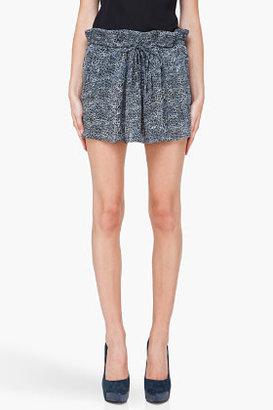 IRO Grey Silk Zana Skirt