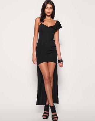 Asos Short And Long Maxi Dress
