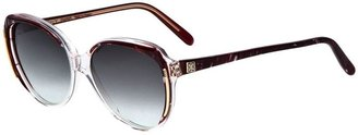Givenchy Vintage marbled sunglasses