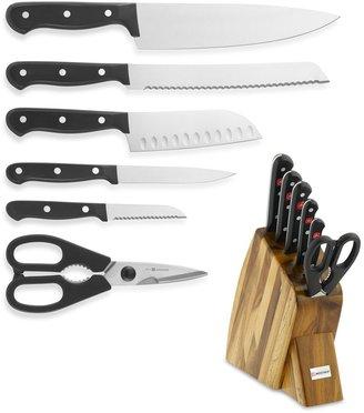 Wusthof Gourmet Large Studio 7-Piece Knife Block Set