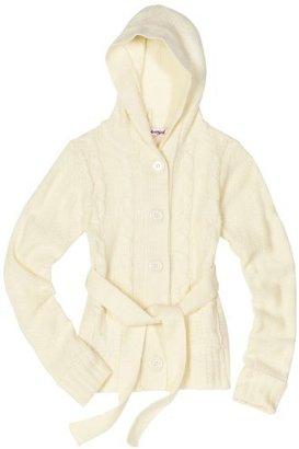 Pink Angel Girls 7-16 Hooded Cardigan Sweater