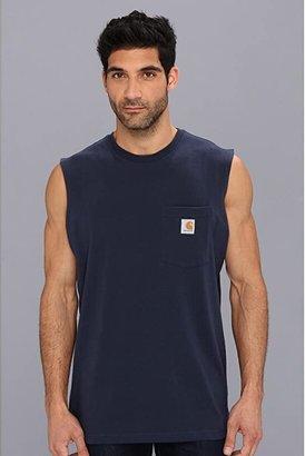 Carhartt Workwear Pocket Sleeveless T-Shirt (Black) Men's T Shirt