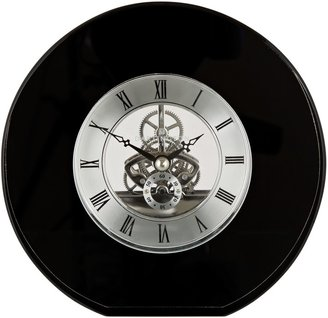 Dartington Crystal Round Mantel Clock, Dia. 15cm