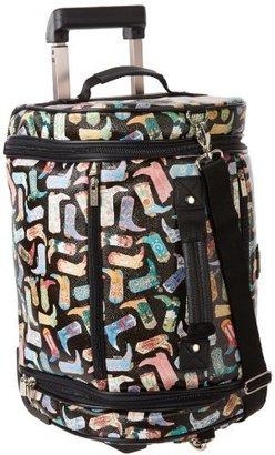 Sydney Love Black&Gold Stripe 22-Inch Luggage Weekender