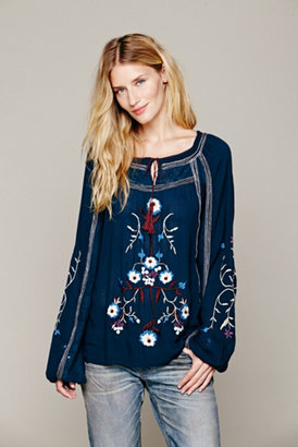 Free People Womens Tiger Lily Top