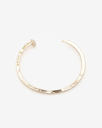Giles & Brother Crystalized Nail Cuff Bracelet