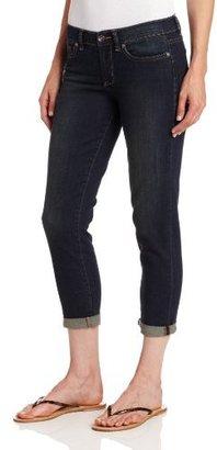 Calvin Klein Jeans Women's City Worn Straight Crop Jean
