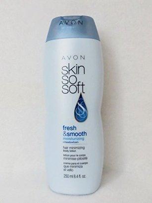 SKIN SO SOFT Fresh & Smooth Moisturizing Hair Minimizing Body Lotion $11.95 thestylecure.com