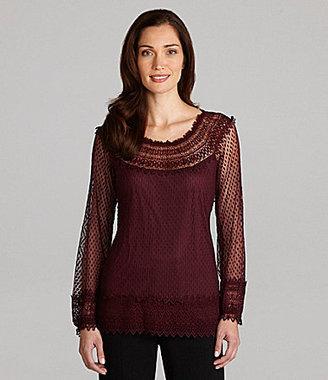 Nurture Long-Sleeve Lace Tunic
