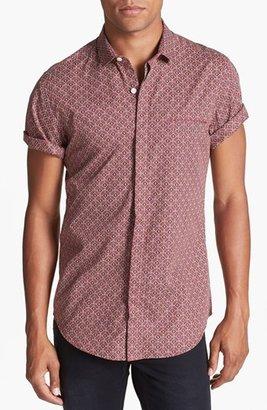 Topman Tile Print Shirt