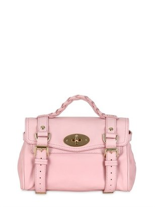 Mulberry Mini Alexa Small Grained Leather Satchel