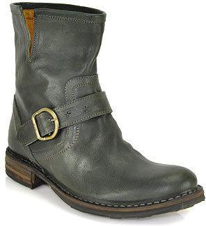 Fiorentini+Baker Eli - Green Leather Bootie
