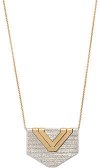 Madewell Chevron Pendant Necklace