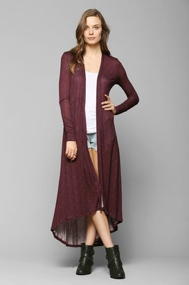 Urban Outfitters Staring At Stars Festival Duster Cardigan