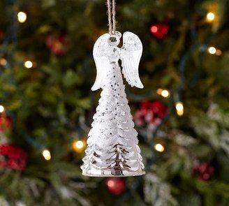 Pottery Barn Mercury Glass Angel Ornament