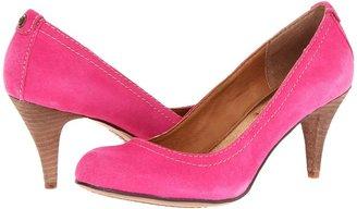 Calvin Klein Jeans Tressa Suede (Fuchsia) - Footwear