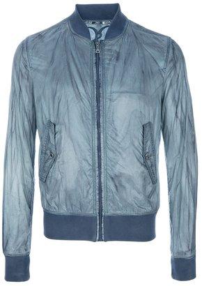 Dolce & Gabbana Distressed bomber jacket