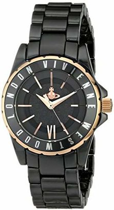 Vivienne Westwood Women's VV088RSBK Knightsbridge II Analog Display Swiss Quartz Watch