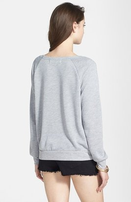 Project Social T 'Eat. Shop. Sleep. Repeat.' Sweatshirt (Juniors)