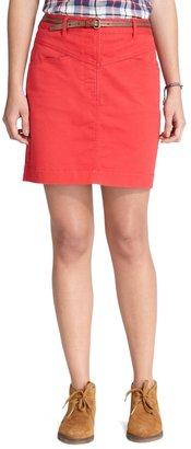 Brooks Brothers Cotton Twill Skirt