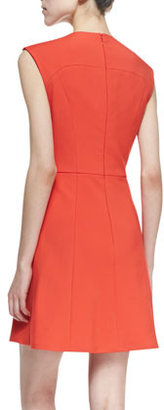 French Connection Classic Capri Seamed Dress