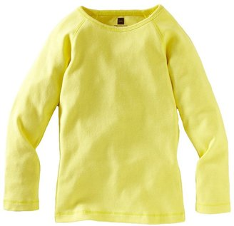 Tea Collection Ribbed Purity Tee - Citrine-6-12 Months