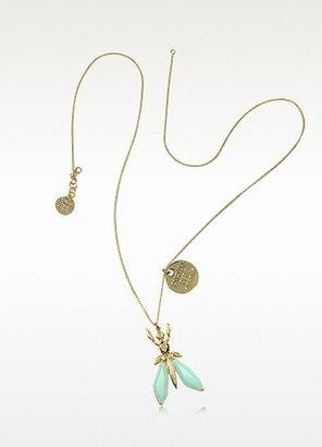 Patrizia Pepe Precious Fly Pendant Necklace