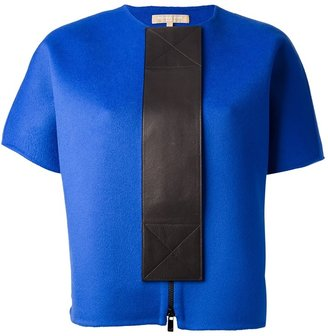 Michael Kors boxy colour block top