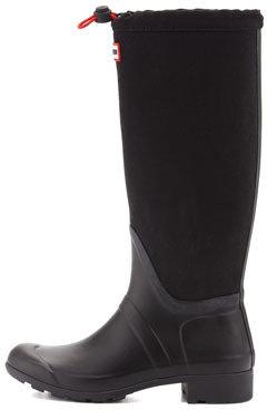 Hunter Original Tour Packable Welly Boot, Black