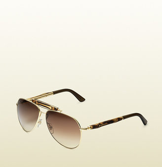 Gucci Bamboo Aviator Sunglasses