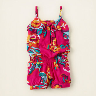 Children's Place Floral bow romper