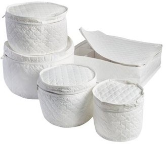 Honey-Can-Do 5 Piece Dinnerware Storage Set