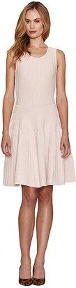 Pink Tartan Sleeveless Ballet Dress