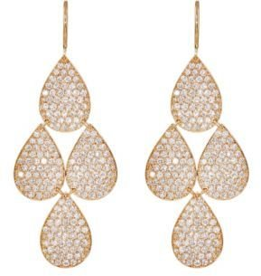 Irene Neuwirth Diamond Collection Women's Four-Drop Earrings