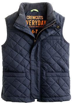 J.Crew Boys' quilted vest