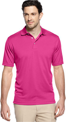 PGA TOUR Shirt, Short-Sleeve Mesh Performance Polo