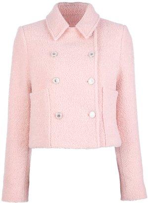 Kenzo double-breasted bouclé coat
