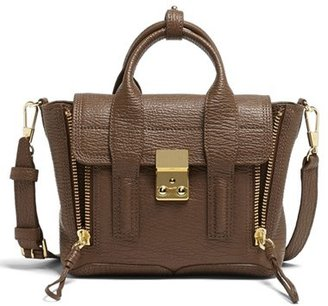 3.1 Phillip Lim 'Mini Pashli' Leather Satchel - Black $695 thestylecure.com