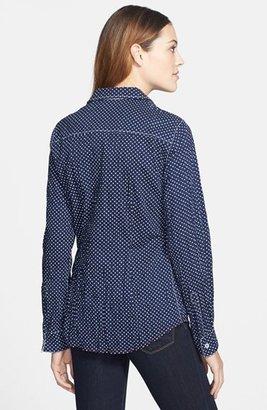 Nexx Dot Print Cotton Shirt