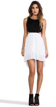 BB Dakota Jace Pleated Tank Dress